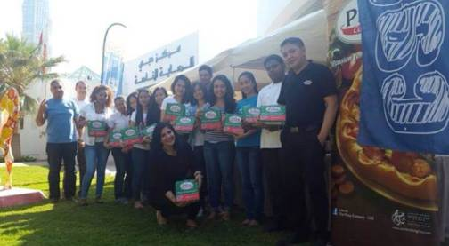 The Pizza Company at the Dubai Center for Special Needs