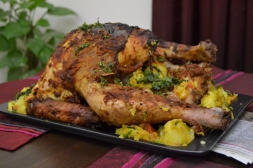 indian style roast turkey