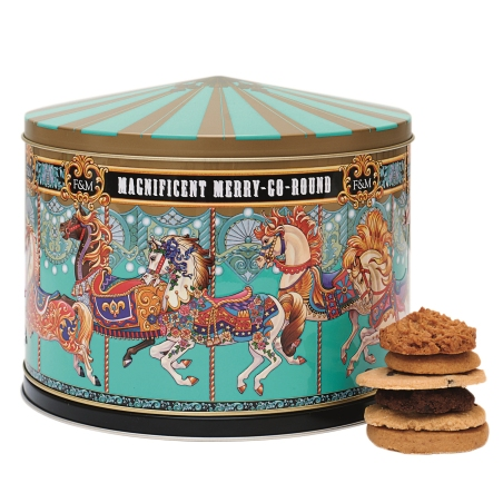 Grocery - Merry Go Round Musical Tin - 2085691