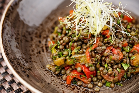 Lentil Salad with Mint