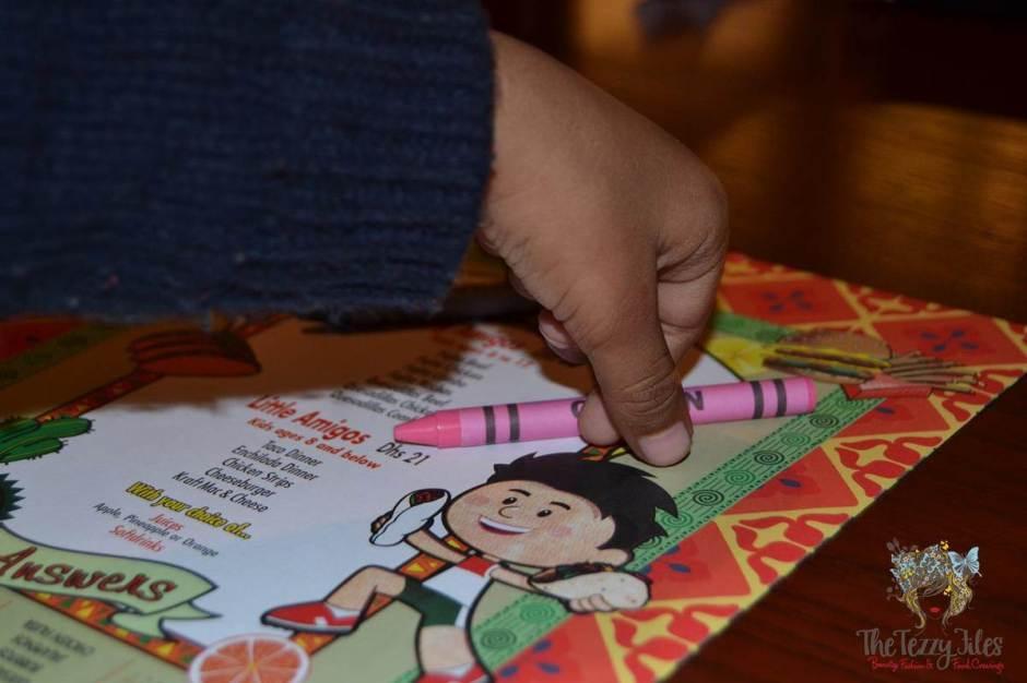 el chico kids crayons