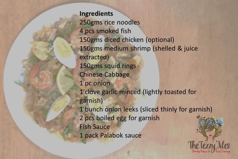 pancit palabok recipe ingredients