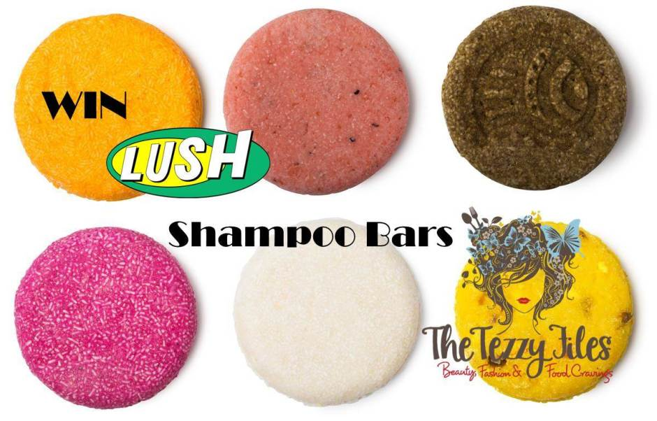 win lush shampoo bars