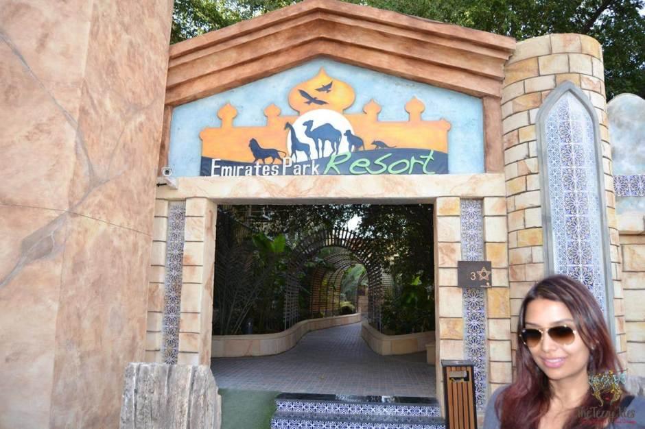 emirates park resort entrance