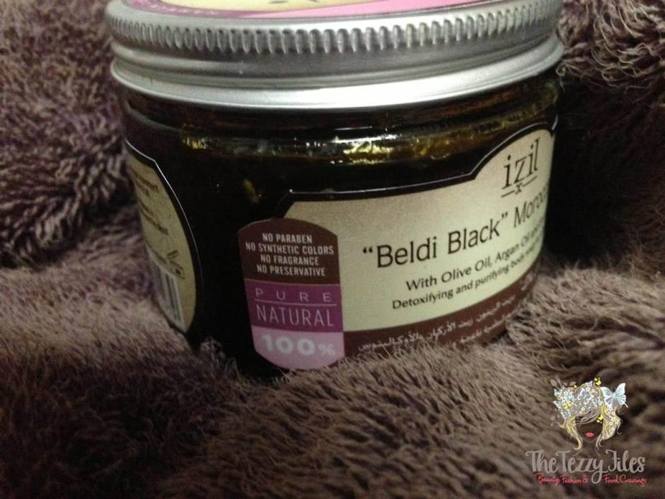 izil beldi black moroccan bath