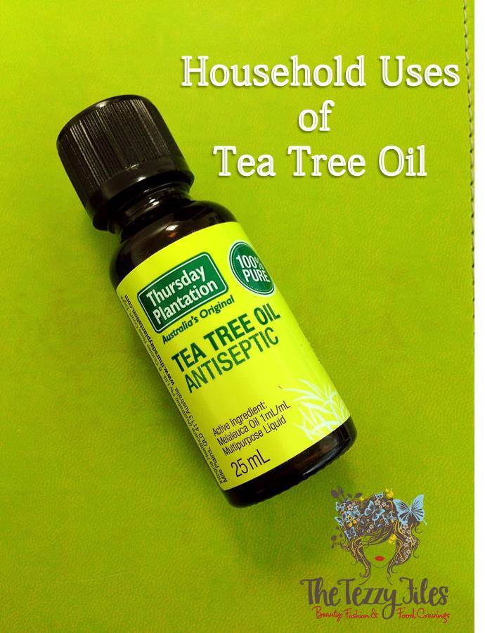 household uses of tea tree oil for the home