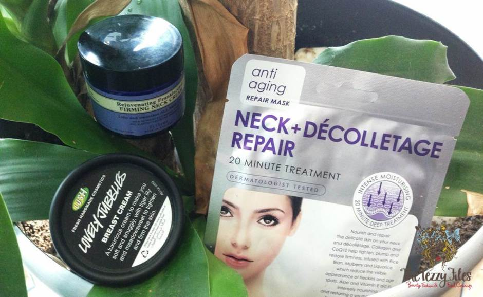 neck and decolletage products