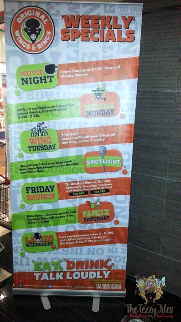 original wings and rings theme nights
