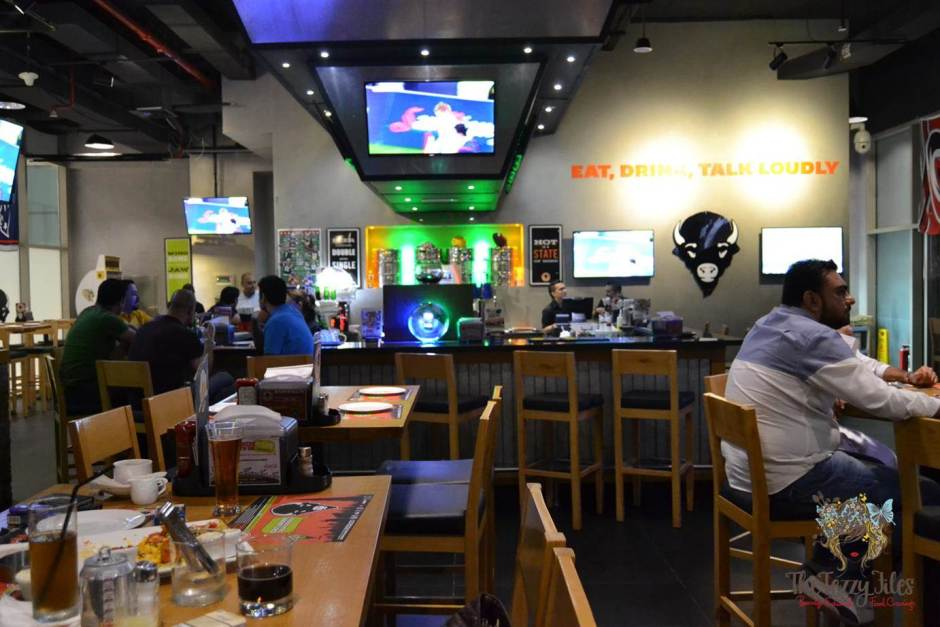 Original Wings & Rings Bar Area