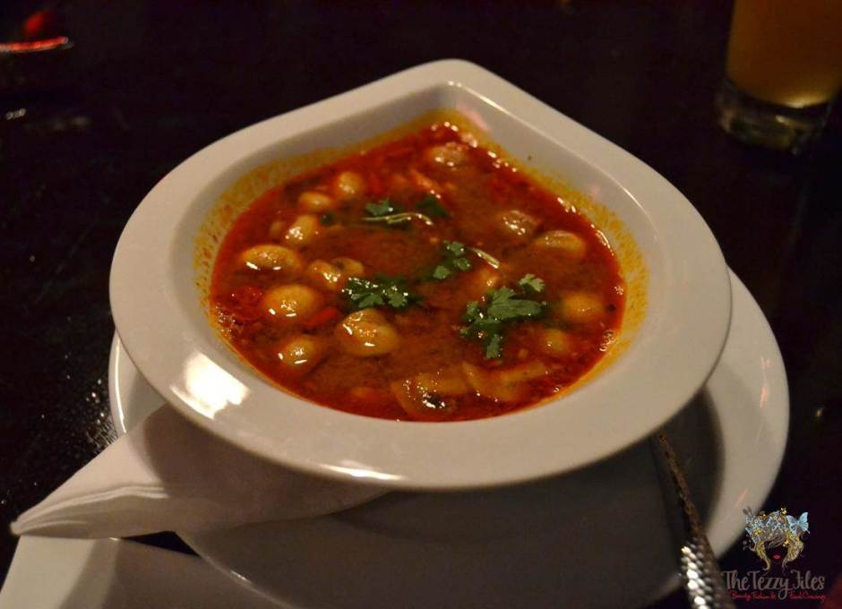the royal budha tom yum soup
