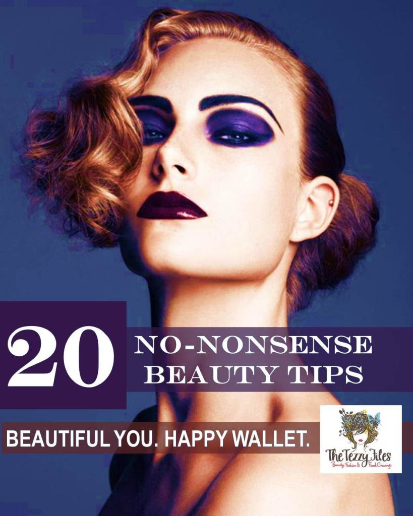 20 no nonsense beauty tips beautiful you happy wallet save money
