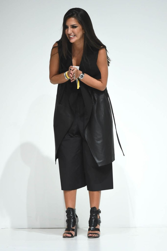 Lama Jouni, the designer behind the brand.