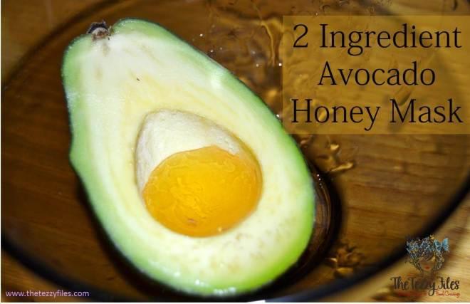 avocado honey mask recipe
