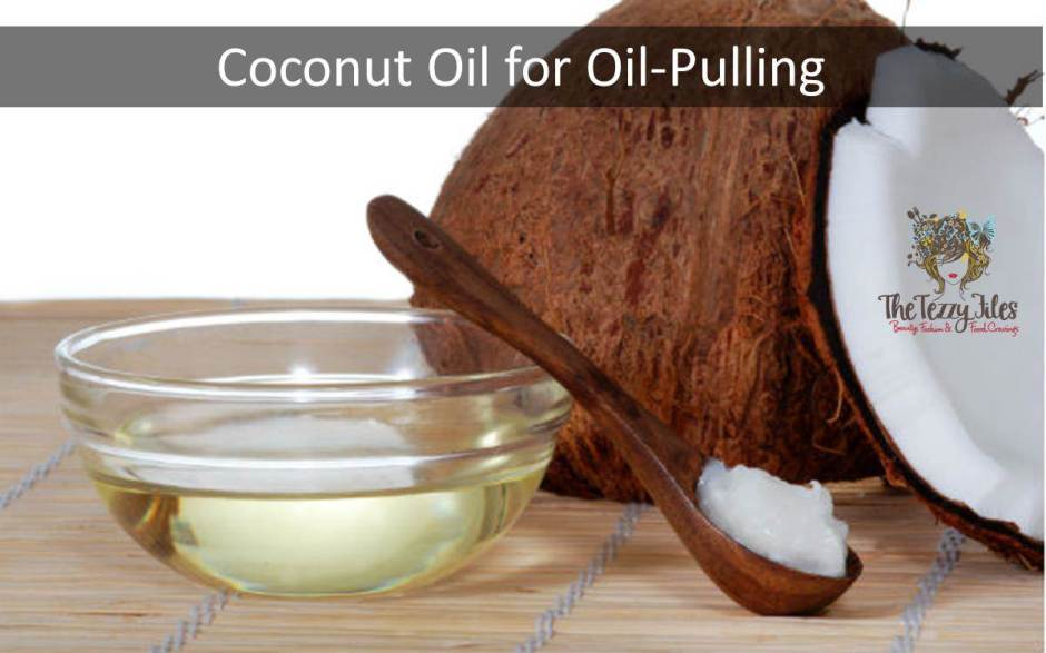 coconut oil for oil pulling oral health