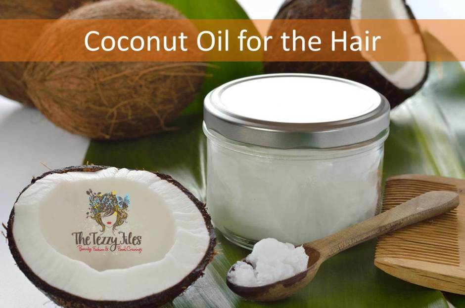 coconut oil for the hair