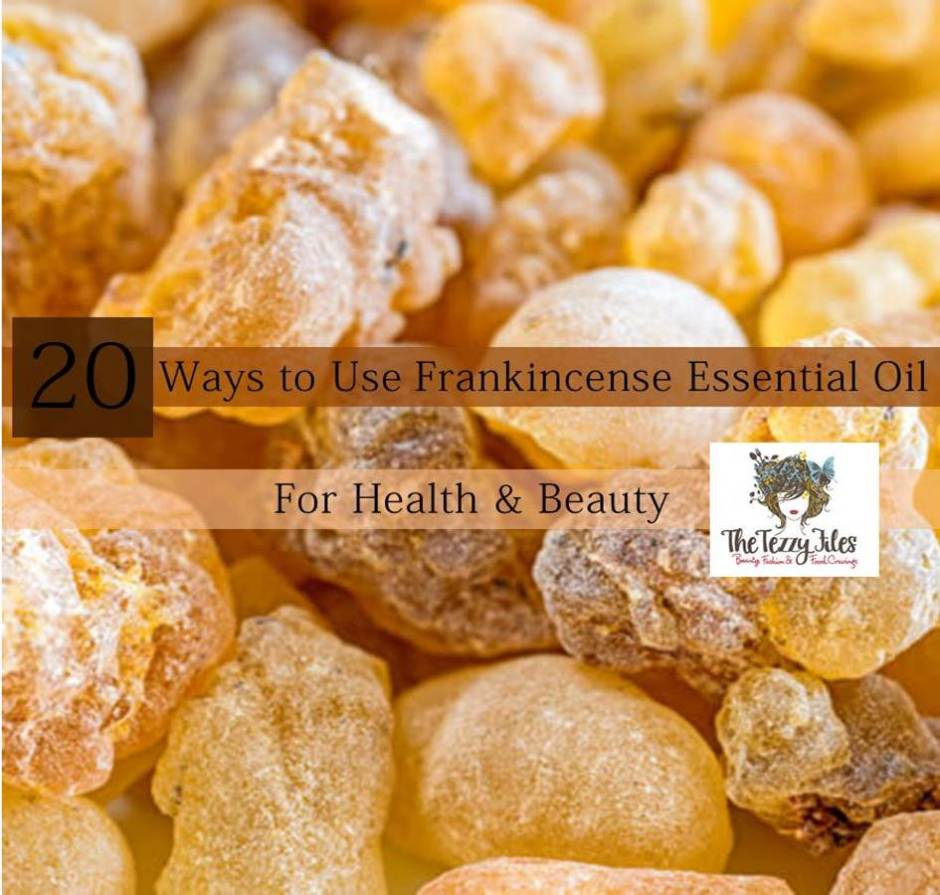 frankincense essential oil uses health beauty
