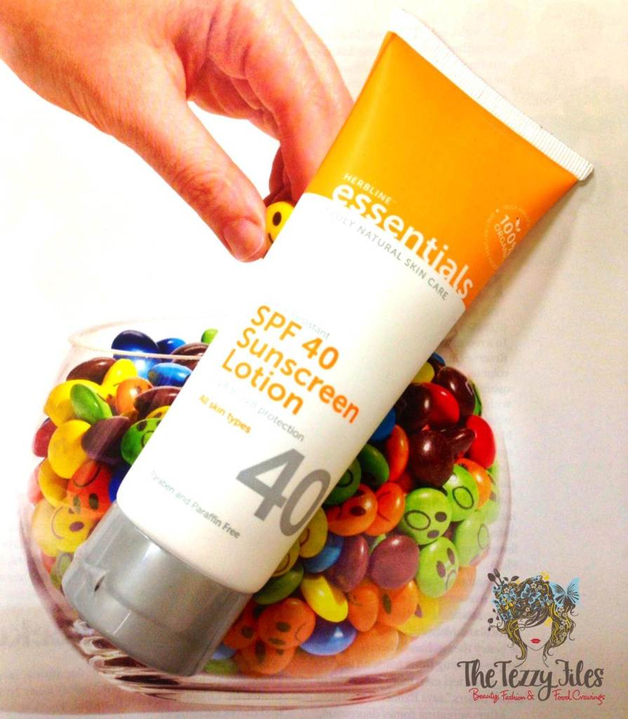 herbline essentials spf 40 sunscreen lotion review
