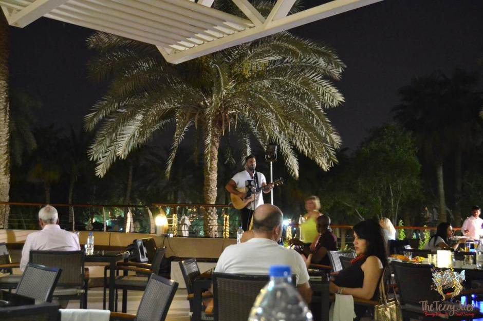 latest recipe le meridien review patio outdoor live entertainment stage