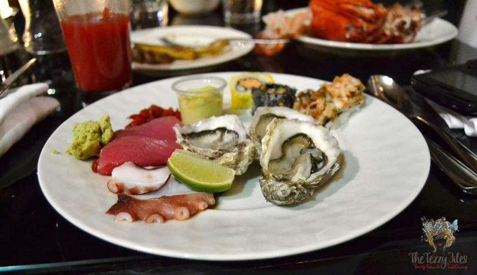 latest recipe le meridien review seafood plate
