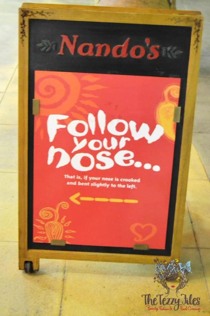 nando's nose