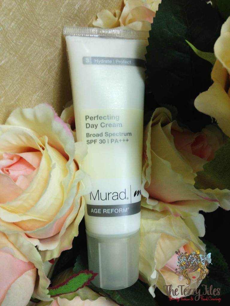 Murad Perfecting Day Cream Broad Spectrum SPF 30 Review Age Reform