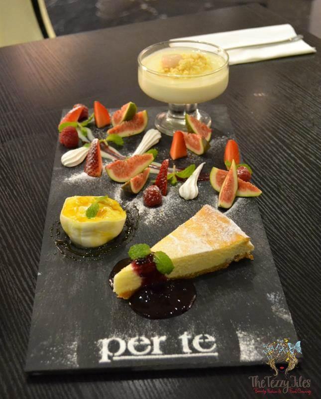 the 'Italiano torta ricotta', the 'Il blanco' and the 'Burrata con fichi e miele'.