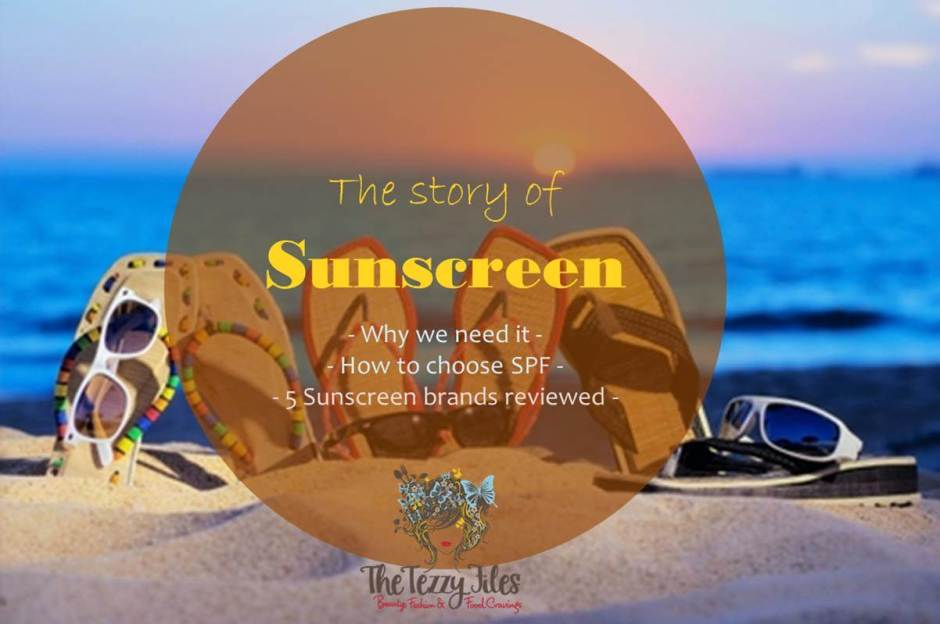 the story of sunscreen. why we need it, how to choose SPF.