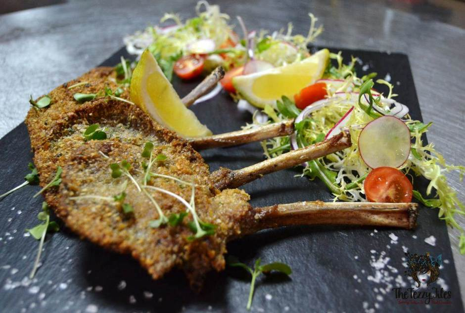 almond crusted lamb chops italian recipe by chef glady per te restaurant dubai
