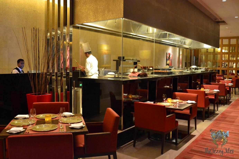 Tandoori kitchen - Ananta The Oberoi Review Dubai Tandoor Kitchen