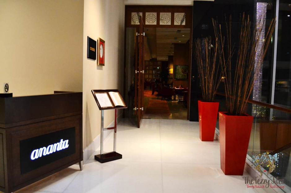 ananta the oberoi review indian fine dining dubai
