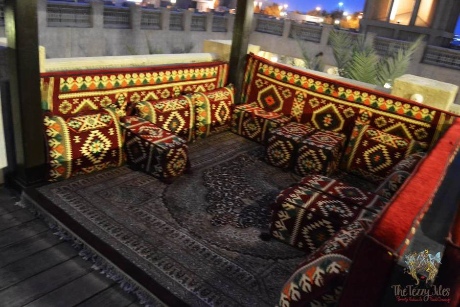 barjeel al arab bedouin cushions