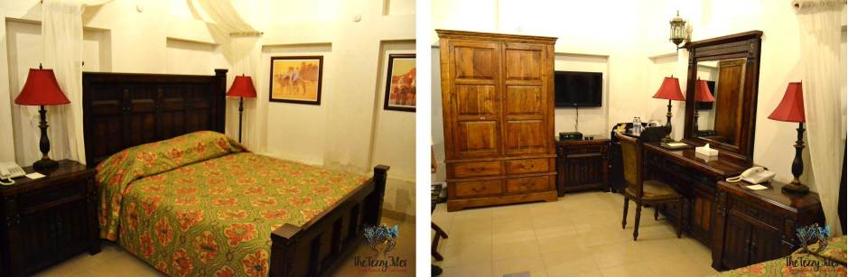 barjeel al arab guest house room bed