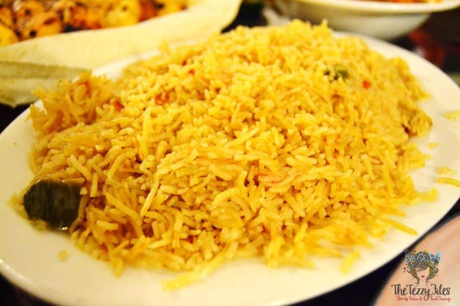 barjeel al arab rice pilaf mandi review