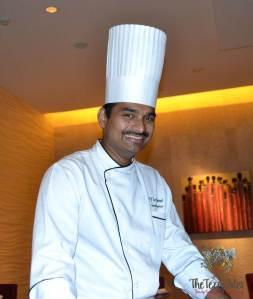 chef saneesh ananta the oberoi dubai