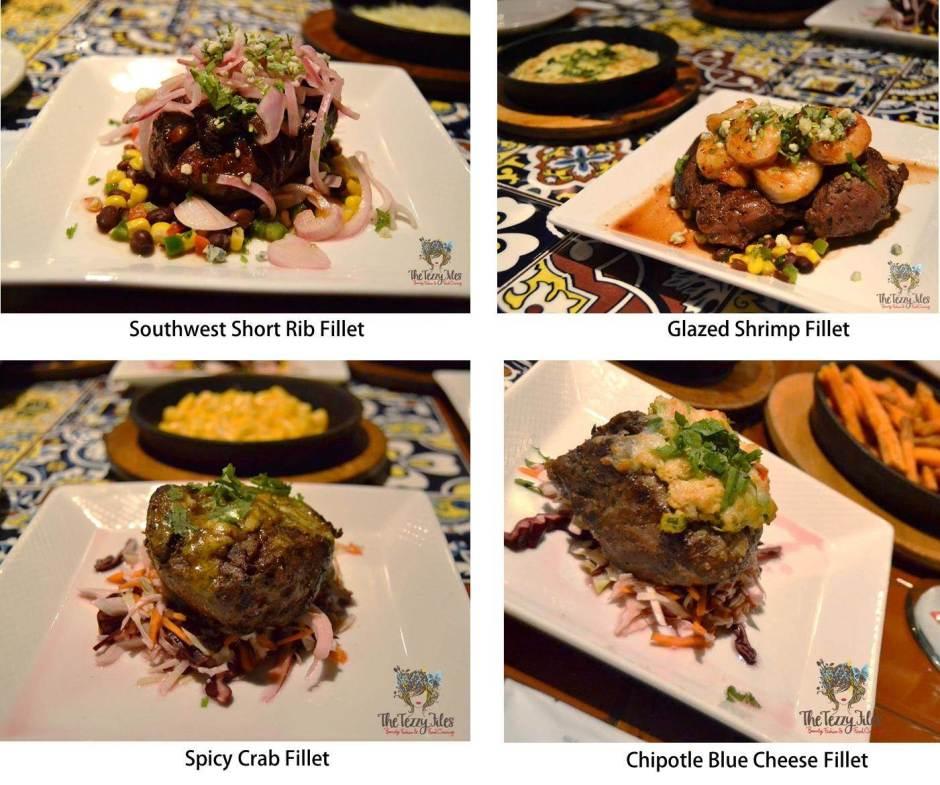 chili's chef cuts 4 options