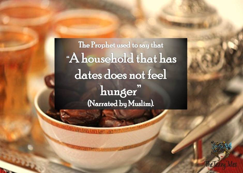 hadith a household with dates does not feel hunger