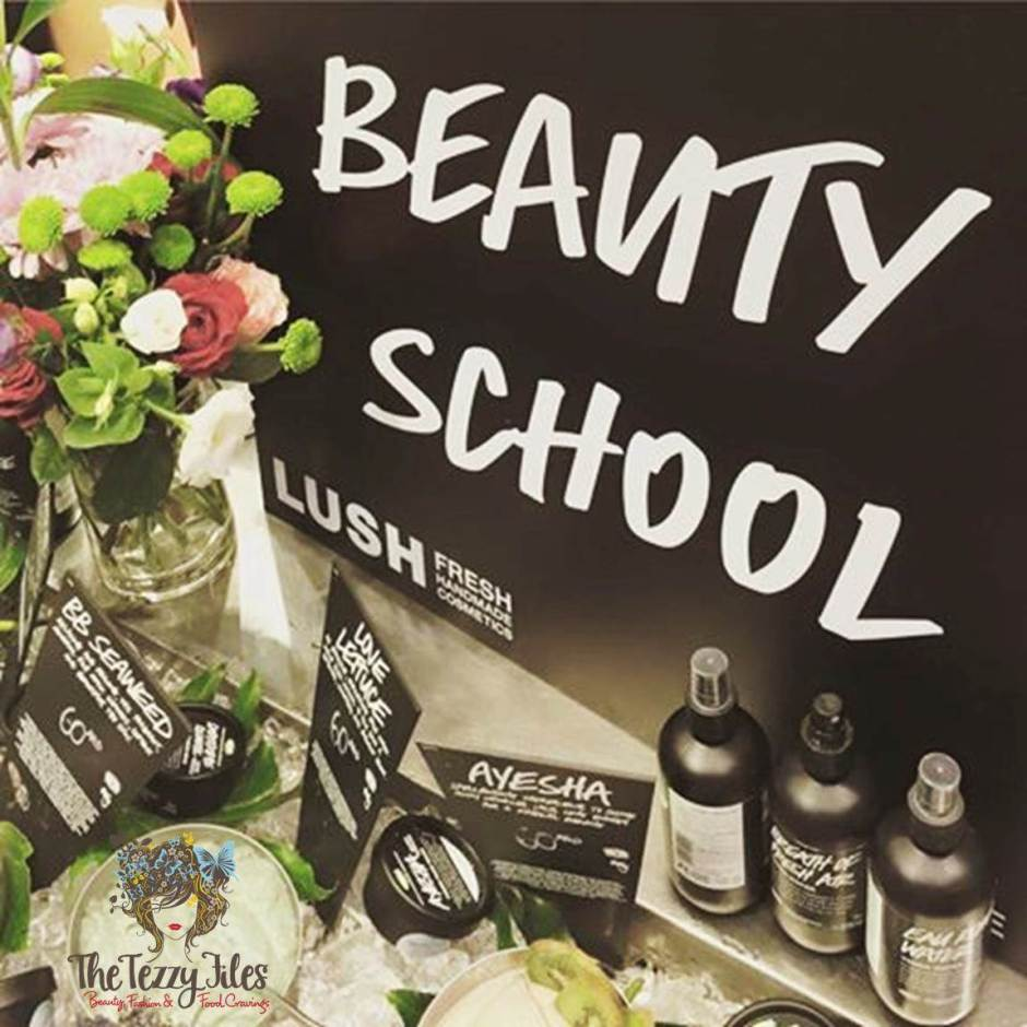 lush beauty school