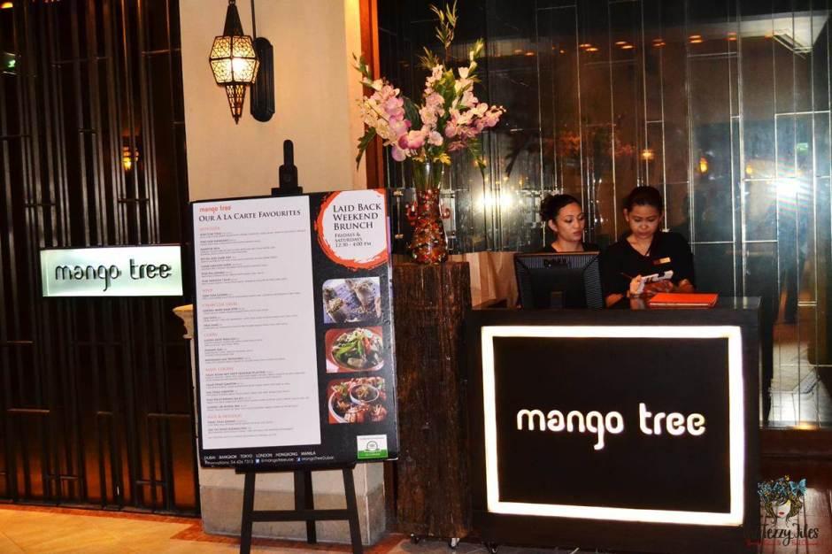 mango tree thai restaurant dubai review reception