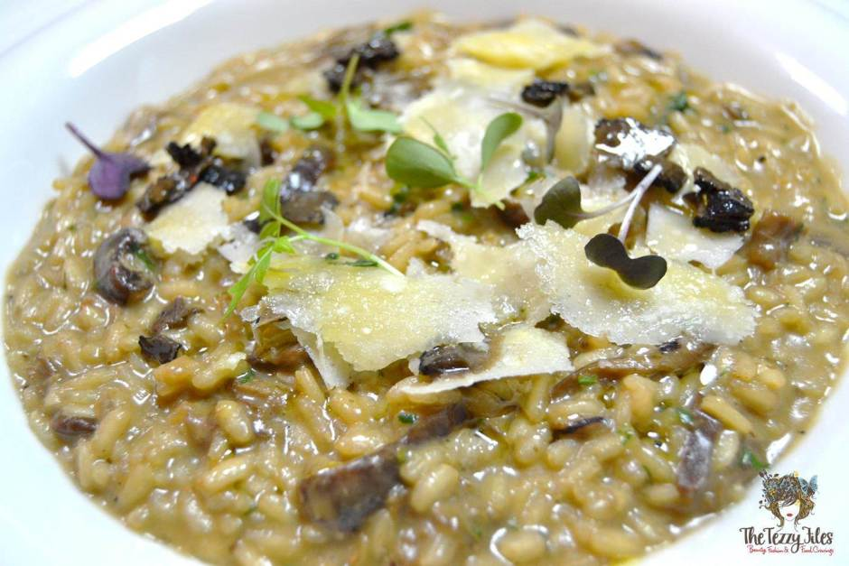 recipe selvatici risotto ai funghi al tartufo italian cooking