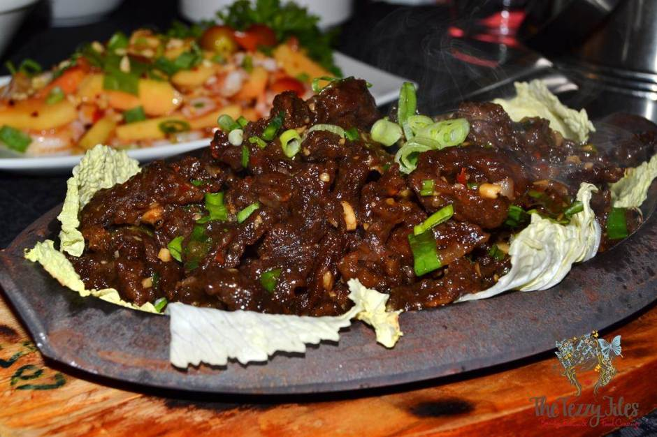 sizzling wok citimax review thai chilli garlic beef