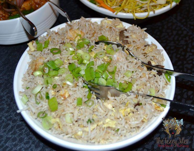 sizzling wok citimax review yang chow fried rice