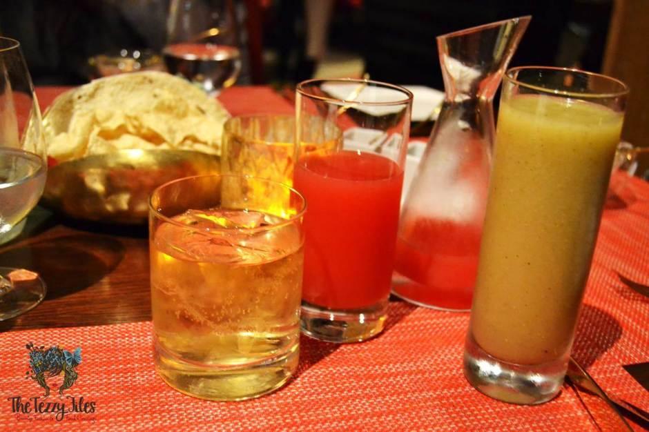 the oberoi ananta indian restaurant drinks review dubai