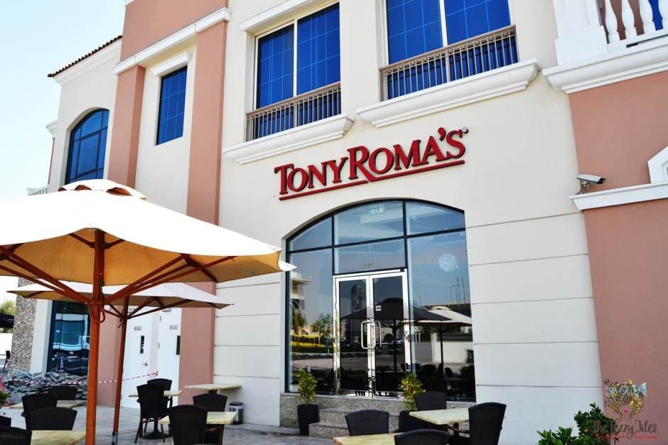 tony roma's wasl vita mall dubai