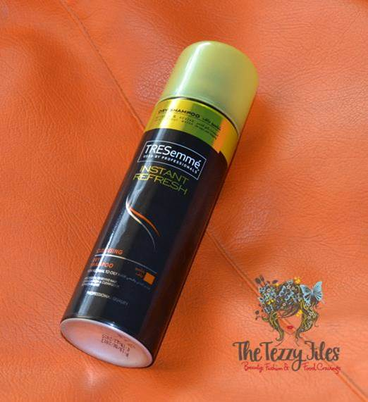 tresemme instant refresh dry shampoo review