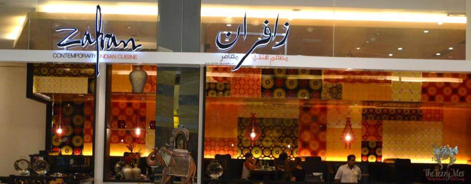 zafran dubai indian restaurant