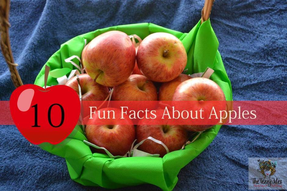 10 fun facts about apples