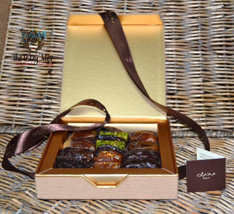 bateel gift box dates open
