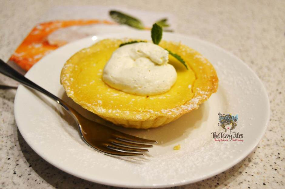 carluccios the walk dubai desserts review lemon pie