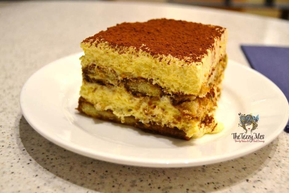 carluccios the walk dubai desserts review tiramissu