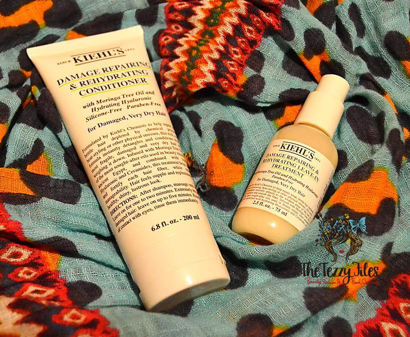 kiehls damage repairing hydrating moringa oil review